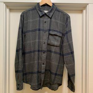 Joes jeans men's plaid shirt